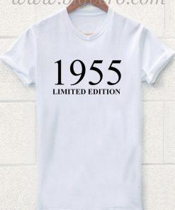 1955 Limited Edition 60th Birthday T Shirt
