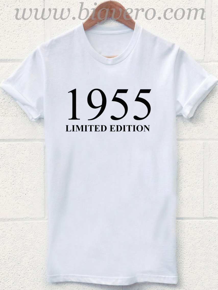 1955 Limited Edition 60th Birthday T Shirt