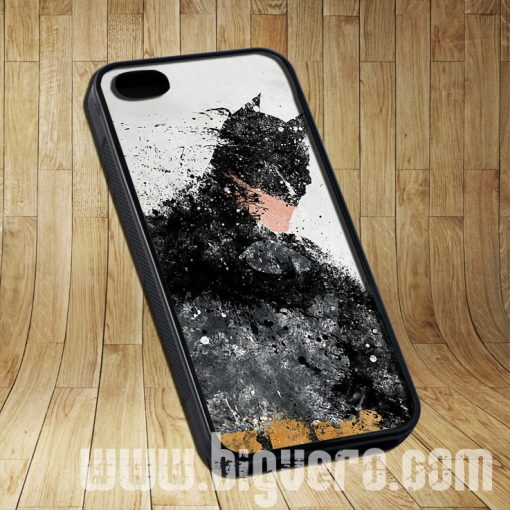 A Hero Batman Painting Cases iPhone, iPod, Samsung Galaxy