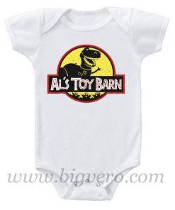 Al's Toy Barn Baby Onesie
