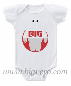 Baymax Big - Big Hero 6 Baby Onesie