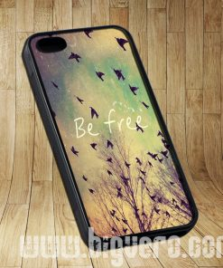 Be Free Birds Cute Quote Cases iPhone, iPod, Samsung Galaxy