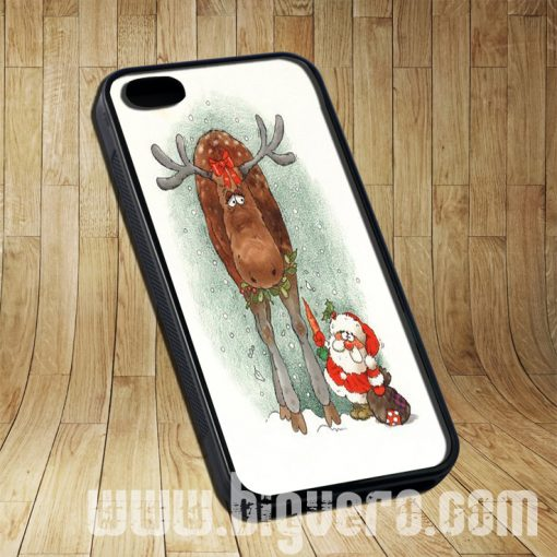 Belles Deer Santa Christmas Cases iPhone, iPod, Samsung Galaxy