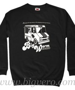 Big Worm Friday Ice Cream Truck Sweatshirt