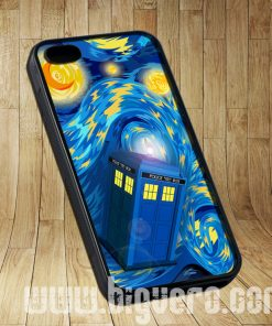 Phone Box Tardis Starry The Night Cases iPhone, iPod, Samsung Galaxy