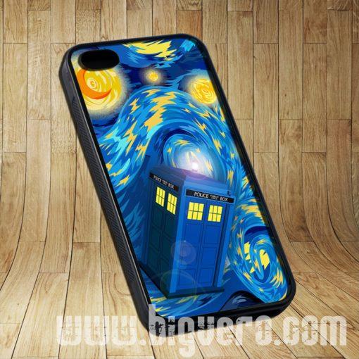 Phone Box Tardis Starry The Night Cases iPhone, iPod, Samsung Galaxy