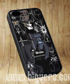 Broken Rupture Damaged Cracked Cases iPhone, iPod, Samsung Galaxy