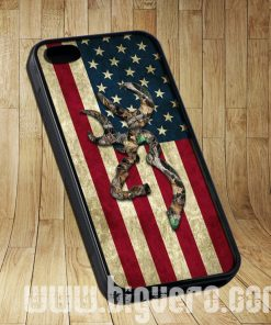 Browning Deer Camo American Flag Cases iPhone, iPod, Samsung Galaxy