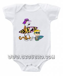 Calvin And Hobbes Baby onesie