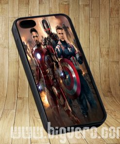 Captain America 3 And Iron Man Cases iPhone, iPod, Samsung Galaxy