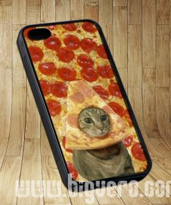 Cat Pizza Funny Cases iPhone, iPod, Samsung Galaxy