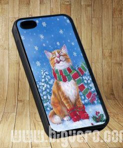 Cat Night Christmas Cases iPhone, iPod, Samsung Galaxy