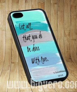 Christian Quotes Bible Corinthians Cases iPhone, iPod, Samsung Galaxy