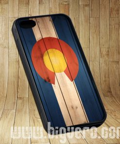 Colorado State Flag Wood Cases iPhone, iPod, Samsung Galaxy