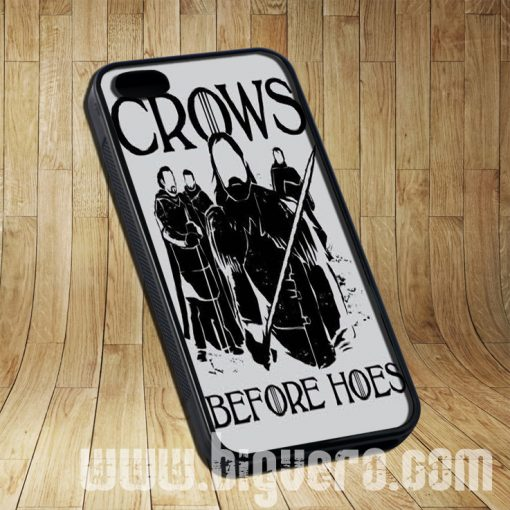 Crows Before Hoes Anime Cases iPhone, iPod, Samsung Galaxy