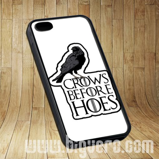 Crows Before Hoes Cases iPhone, iPod, Samsung Galaxy