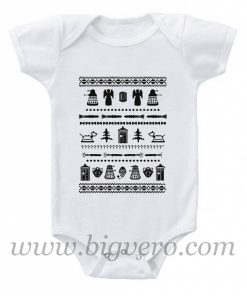 DOCTOR WHO HOLIDAY Baby Onesie