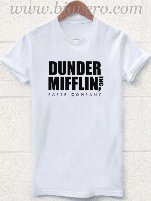 Dunder Mifflin Paper Company T Shirt