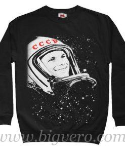 Gagarin Soviet Propaganda Sweatshirt