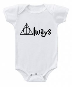 Harry Potter Always Baby Onesie