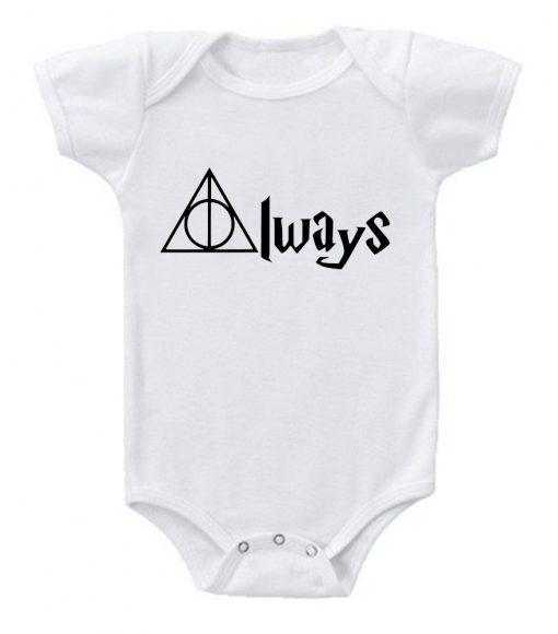 Harry Potter Always Baby Onesie