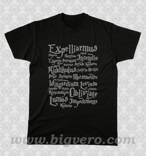 Harry Potter Magic Spelling T Shirt