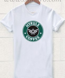 Hyrule Coffee The Legends of Zelda T Shirt