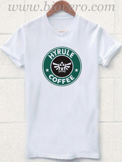 Hyrule Coffee The Legends of Zelda T Shirt