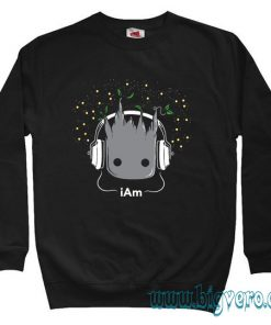I Am Groot Guardian Of The Galaxy Sweatshirt Size S-XXL