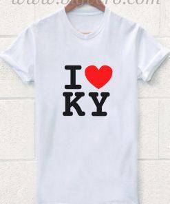 I Heart KY Kentucky T Shirt