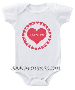 I Love You So Much Dad and Mom Baby Onesie