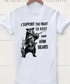 I Support The Bears T Shirt