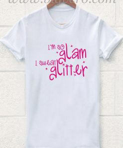 I Sweat Glitter T Shirt