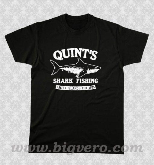 JAWS cool shark White T Shirt