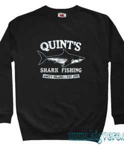 Jaws Cool Shark Sweatshirt Size S-XXL