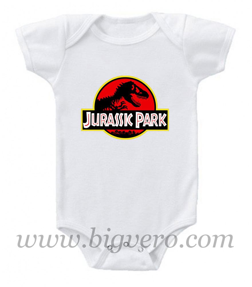 Jurassic Park Baby Onesie | Cool Tshirt Designs - Bigvero.com