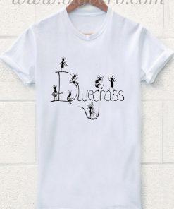 Kokopelli Bluegrass Band Mouse Pad Music T Shirt