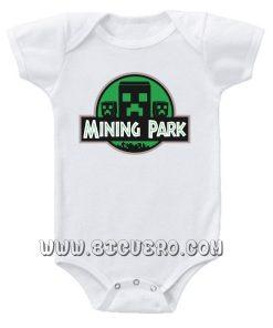 MINING PARK baby Onesie