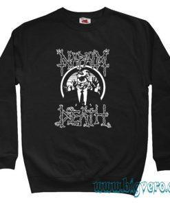 Napalm Death Sweatshirt Size S-XXL