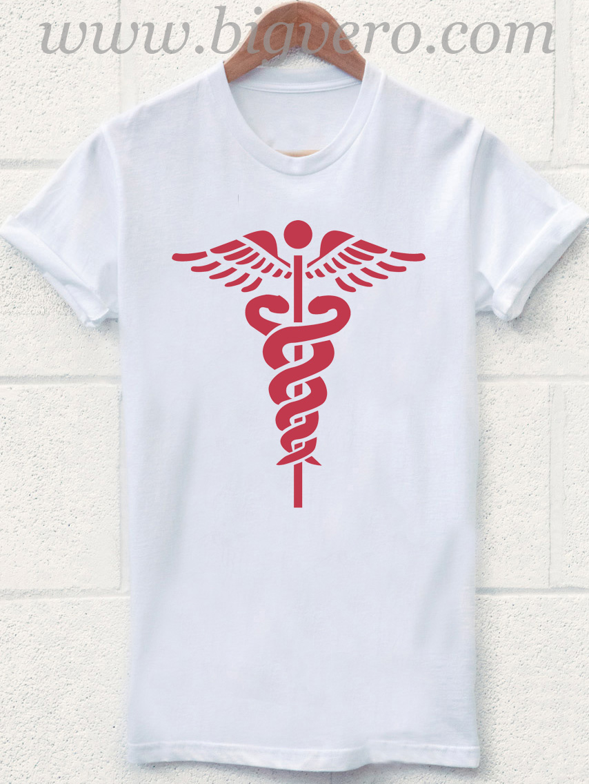 nurse rn symbol medical gift dr doctor t shirt cool tshirt designs