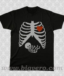 Maternity Skeleton T Shirt