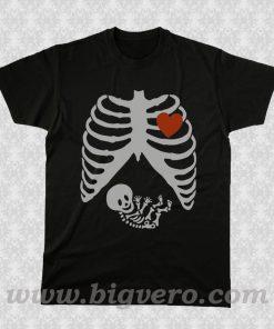 Maternity Skeleton T Shirt