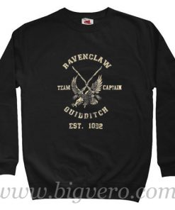 Harry Potter Ravenclaw Quidditch Sweatshirt