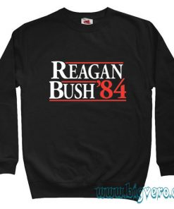 Reagan Bush '84 Sweatshirt Size S-XXL