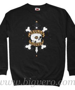 Skulls Bones Sweatshirt Size S-XXL