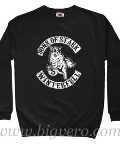 Sons of Stark Game of Thrones Sweatshirt