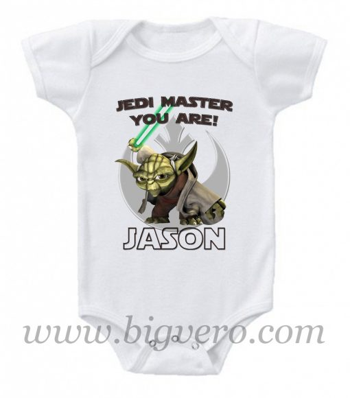 Star Wars Yoda Baby Onesie