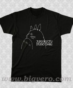 Studio Ghibli Inspired Totoro T Shirt