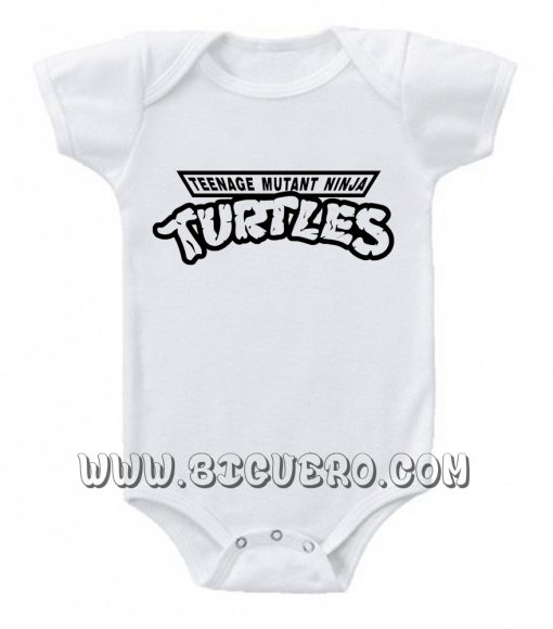 TMNT Turtles baby Onesie