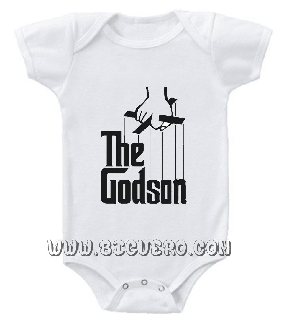 1e0ba02a2 The Godson Baby Onesie | Cool Tshirt Designs - Bigvero.com
